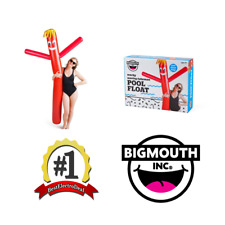 BigMouth Inc Wacky Waving Red Tube Man Inflatable Swimming Pool Float Noodle