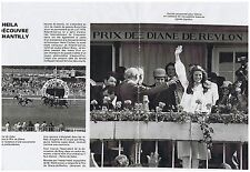 PUBLICITE ADVERTISING 054 1978 SHEILA découvre Chantilly (4 pages)
