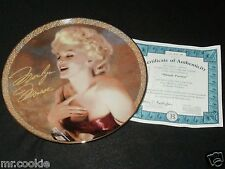 Blonde Passion Plate by Joanie Schwarz Love, Marilyn Coa 1139 A