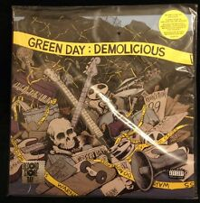 GREEN DAY DEMOLICIOUS RED CLEAR VINYL 2LP 18 DEMOS Unreleased RSD 2014 Record