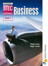 BTEC National Business Book 1 3rd Edition: Bk. 1, Roger Trevitt, Roger Lewis | P