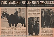 Florence Quick (Tom King) -  Making Of An Outlaw Queen