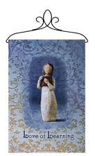 Willow Tree Love of Learning Angel Tapestry Bannerette Wall Hanging
