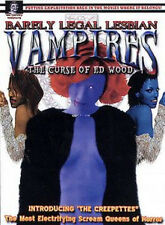 Barely Legal Lesbian Vampires: The Curse of Ed Wood (DVD, 2003)