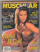 Muscular Development Bodybuilding Rachel McLish /Arnold Schwarzenegger 5-96