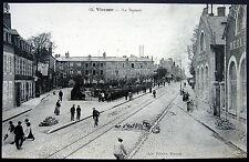 FRANCE ~ 1900's VIERZON ~ Le Square   EPICERIE  VINS