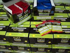 Cormoran 100 Knicklichter zum Angeln in gelb /& frisch 37,0x4,5 mm light 4908005