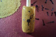 glitter mix acrylic gel nail art   NAIL TIME      *GOLD*