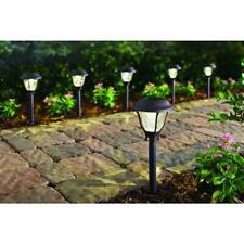 SOLAR LED PATHWAY LIGHTS Set Outdoor Path Light Yard Garden Walkway Lamp 6-PACK