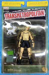 DC Direct Transmetropolitan Action Figure Spider Jerusalem Vertigo NEW SEALED