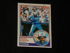 HOF ANDRE DAWSON 1983 TOPPS SIGNED AUTOGRAPHED CARD #680 MONTREAL EXPOS
