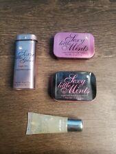 Victoria's Secret Lot Sexy Little Mints Gum Sugar Free Sealed New & Lip Gloss