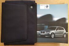 BMW 1 Series E81/E87 Manuale Proprietari Manuale Wallet 2004-2007 CONF. B-657