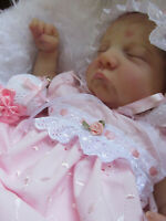 "Beautiful reborn 18""   Baby girl Levi x Bonie Brown ~ GHSP~  Bespoke layette"