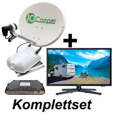 JoCamper Premium inkl. TV Vollautomatische Satanlage Komplettset