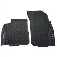 Original Audi Q7 (4M) Gummi Fußmatten vorn Gummimatten Allwettermatten schwarz