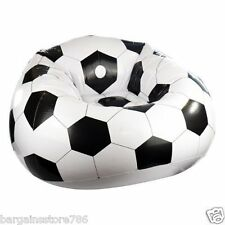 Football Design Inflatable Comfi Sofa Gaming Seat Lounge Chair Couch New