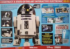 STAR WARS R2-D2 DROID!.MODEL KIT ISSUE 1,1:2 SCALE.WIRELESS.APP-CONTROLLED.LED