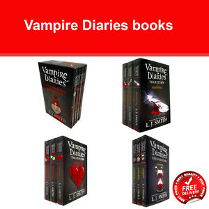 Vampire Diaries Complete Collection 1-13 Books Set by L. J. Smith NEW Pack