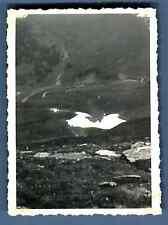 France, Mont Névé à 2000 m. du Mont Joly vers le Mont Joux  Vintage silver print
