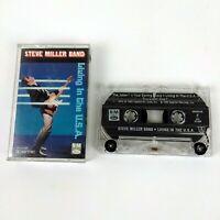 The Steve Miller Band Living in the USA 1990 Audio Cassette Tape Capitol