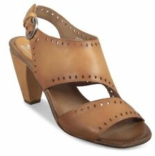 Miz Mooz Pasco Sandals in Camel Brown Leather, Br New, 40