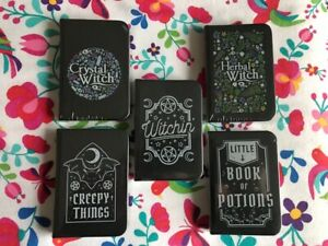 Mini Notebook Potions Witchin Creepy Herbal Crystal Witch Pagan Notes