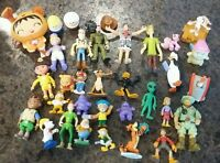 PVC & Fast Food Mixed Toy Figure  Lot ~Disney~Dora~Looney Tunes 30+pcs.