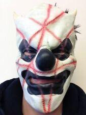Maschere bianca in latex per carnevale e teatro