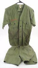 1950s True BSA Boy Scouts of America Shirt Shorts w/ Original Buttons Troop 37