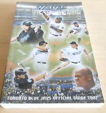Toronto Blue Jays Official Media Guide Book 2007 (SC) Baseball MLB