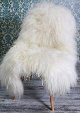 XXL ICELAND Sheepskin Rug, Soft Extra Long Wool, Ivory/Cream, 130cm