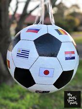 Soccer Ball pinata World Cup handmade Piñata Birthday Party