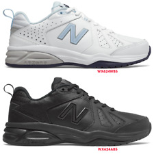 NEW BALANCE WOMENS 624 v5 Version 5 D WIDE LEATHER CROSSTRAINER WORK WALK SHOES