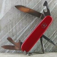 Victorinox Tinker Swiss Army Knife Red Multi-Tool Camp EDC Good Used Condition