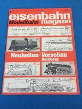 Eisenbahn Magazin Modellbahn 1978 2 BR 252 112 Trix 94 Fleischmann 41 Märklin 85