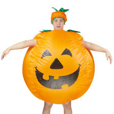 Halloween Women Men Cosplay Party Inflatable Pumpkin Costume Adult Fancy Dress