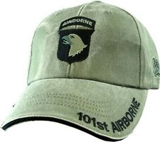 101st Airborne Insignia Hat - U.S. Army OD Green Military Hat Baseball Cap