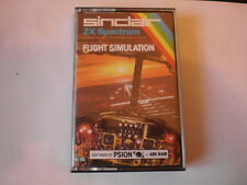 Sinclair ZX Spectrum 48k Game For Sale, Flight Simulation, not tested Condition