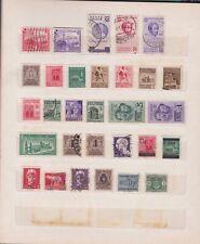 Italia - Regno 1935 - 1938, Collezione di francobolli del periodo.