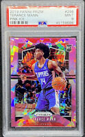 Terance Mann 2019-20 Panini Prizm Pink Ice Rookie RC #296 Clippers PSA 9 POP 1
