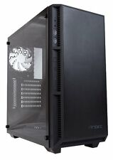 Antec P8 Gaming PC Case with Tempered Glass Window - ATX, White LED Fans, No PSU