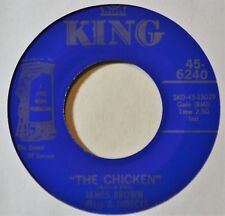 "James Brown The Chicken Popcorn EX 45 Funk Funky Soul 7"" Vinyl Extras Ship Free"