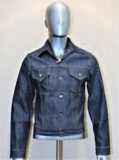 LEVIS raw denim trucker jacket brut vintage 90's neuve rigid 42 FR made in USA