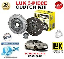 FOR TOYOTA AURIS 2.0 D4D 2.2 D CLUTCH KIT 2007-2012 LUK 3 PIECE ** OE QUALITY **