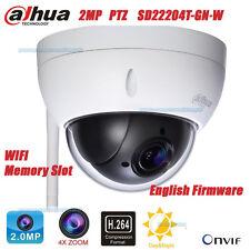 Dahua SD22204T-GN-W 2MP HD Wifi Outdoor 4X ZOOM Network Mini Dome Camera PTZ