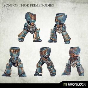 Kromlech Sons Of Thor Prime Bodies (5) Brand New KRCB277