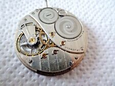 Elgin National G.M Wheeler watch movement not working intranquilidad defectuosa (z363)