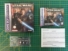 GAME BOY GAMEBOY ADVANCE GBA BOXED BOITE STAR WARS EPISODE II: ATTACK OF THE CLO