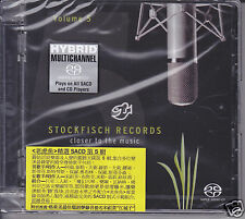 "Stockfisch Records ""Closer To The Music Vol.5"" Multi-Ch Hybrid SACD Germany New"